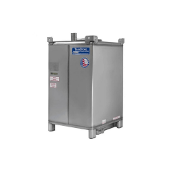 Mitchell Container 550 Gallon Stainless Steel IBC